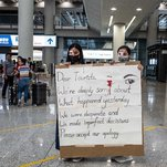 Photo of Soul Searching Among Hong Kong Protesters After Chaos at Airport