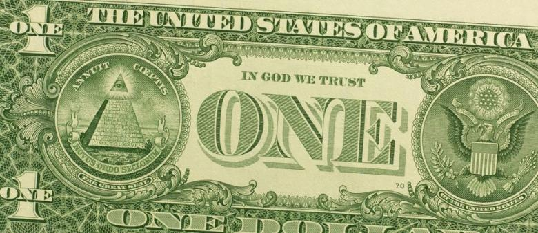 Photo of Kentucky School District Complies With Mandatory 'In God We Trust' Displays With Framed Dollar Bills