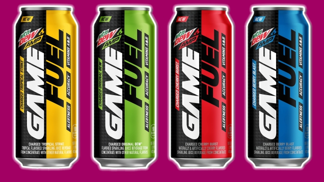 Photo of Every Flavor Of Game Fuel Reviewed And Then Mixed Together