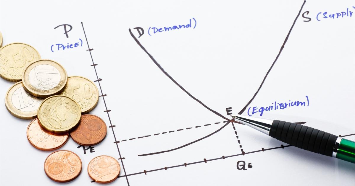 Фото Спрос и предложение, равновесная цена. Кривая спроса и предложения