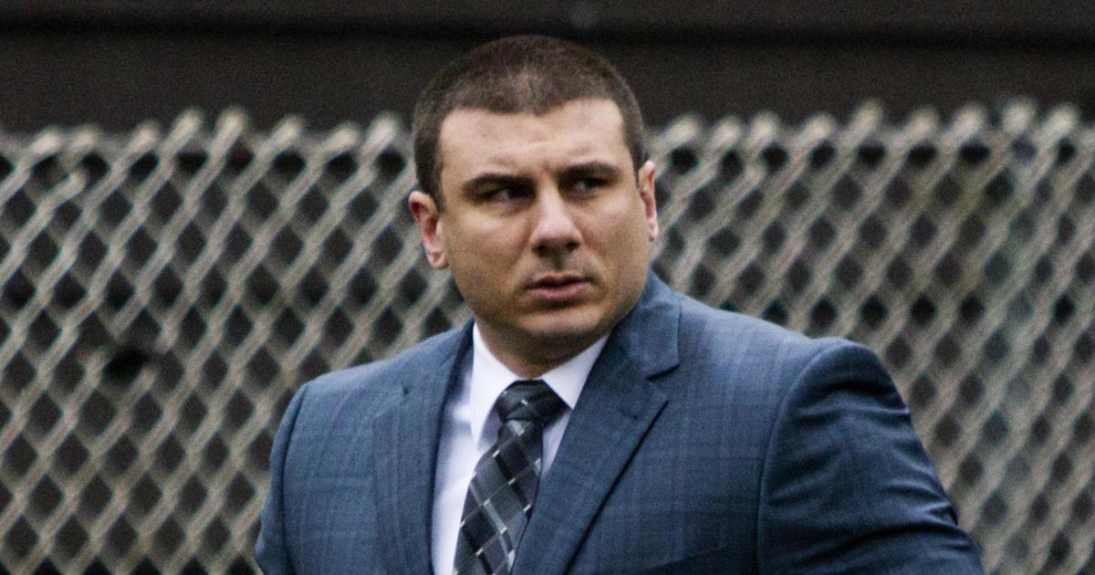 Photo of NYPD officer Daniel Pantaleo fired in 2014 Eric Garner chokehold death