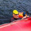 Немецкий спортсмен два дня переплывал Телецкое озеро