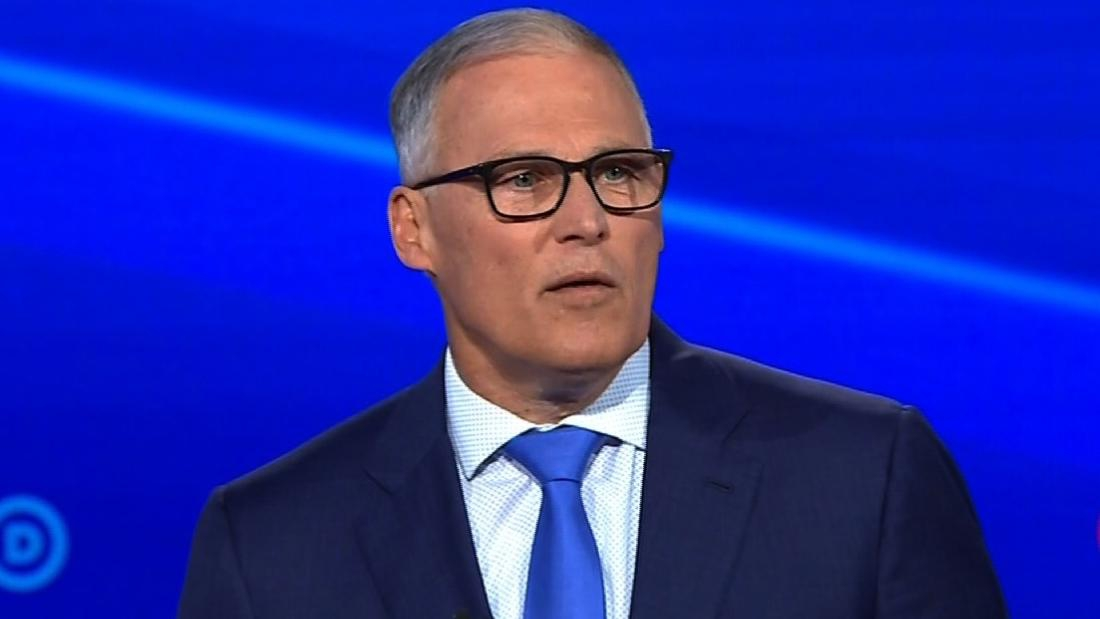 Photo of Washington Gov. Jay Inslee drops out of presidential race
