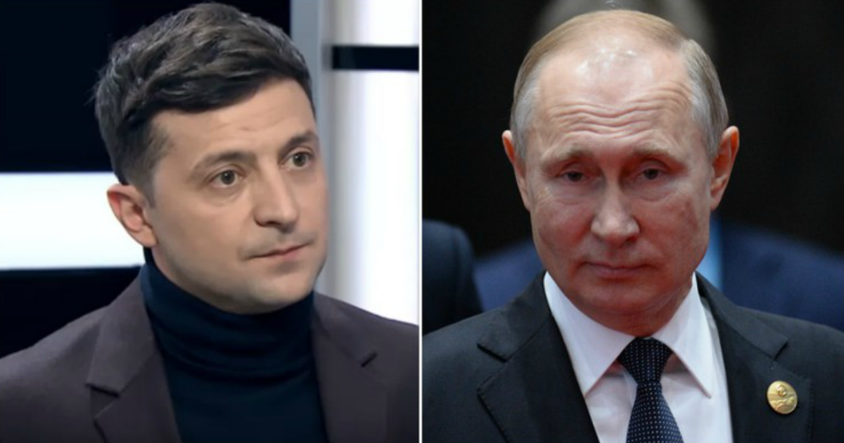 Зеленский предложил Путину место в G8 в обмен на Крым