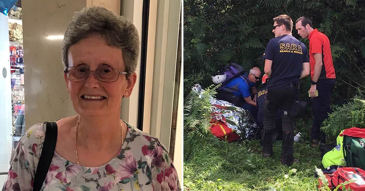 Четыре дня без еды и воды. 71-летняя женщина потерялась в лесу