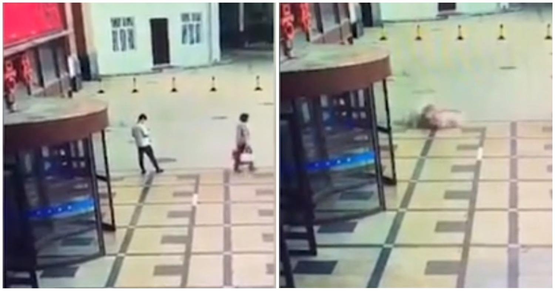 Неизлечимо больная пациентка прыгнула из окна и приземлилась на парня