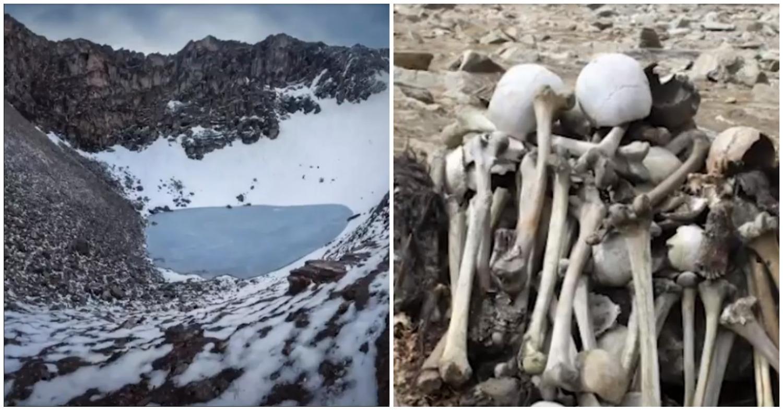 «Скелетное» озеро. Ученые не могут понять происхождения сотен костей