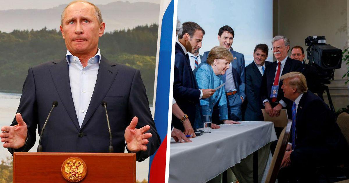 Кто кого выгнал? Чем плоха «большая восьмерка» и нужна ли она России