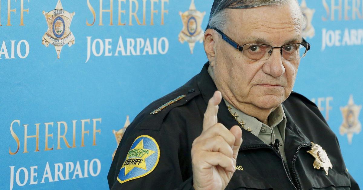 """Photo of """"America's Toughest Sheriff"""" Joe Arpaio running to reclaim his post"""