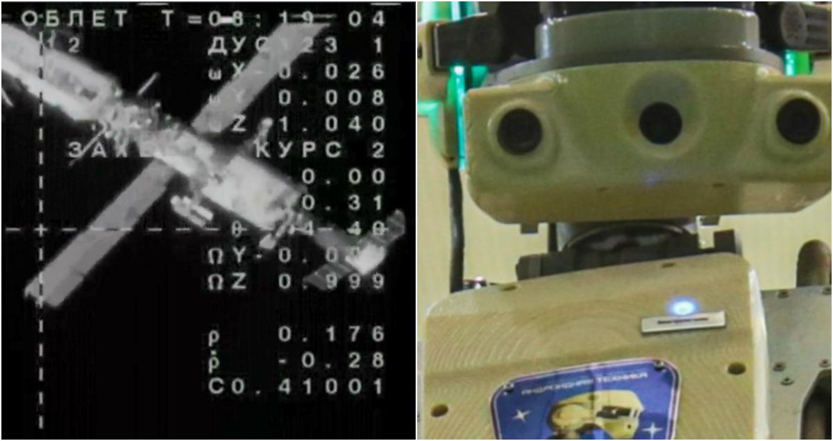 «Союз МС-14» с роботом «Федором» на борту пристыковался к МКС