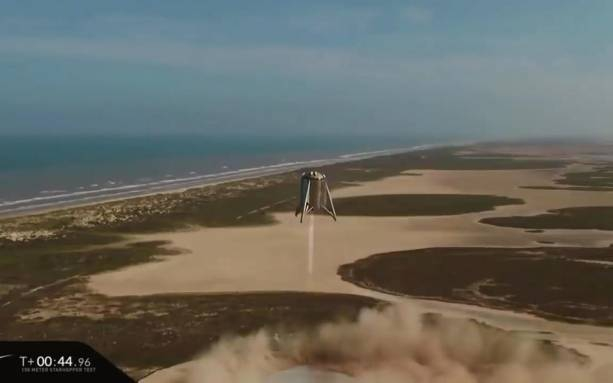 Photo of SpaceX Starhopper makes highest, longest, and final untethered hop