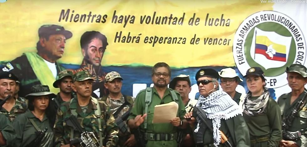 Photo of El disidente de las FARC Iván Márquez anuncia que retoma las armas en Colombia