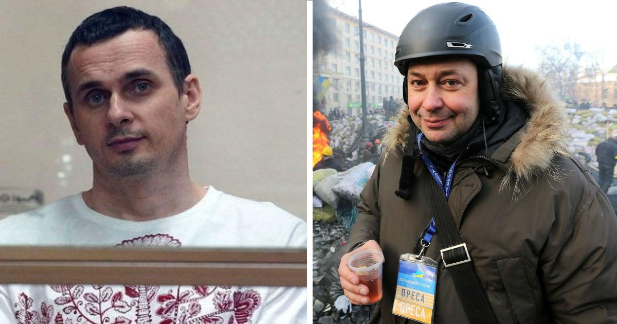 Обмен между Россией и Украиной: кто такие Олег Сенцов и Кирилл Вышинский