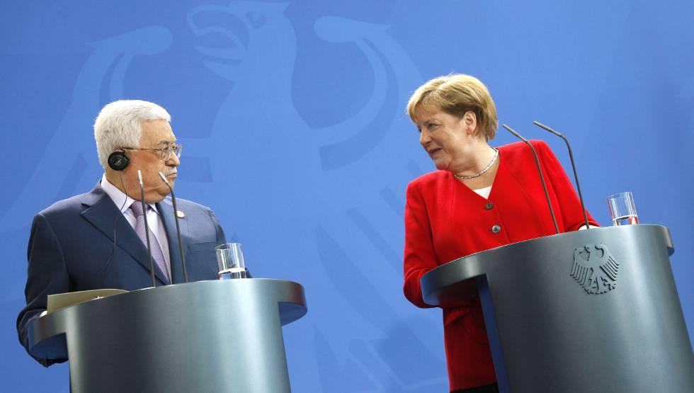 Photo of Merkel defiende ante Abbas la solución de dos Estados para el conflicto israelopalestino