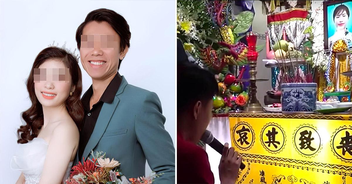 На похоронах невесты жених устроил свадебную церемонию