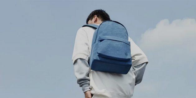 Фото Xiaomi представила стильный и недорогой рюкзак из серии 90 Points