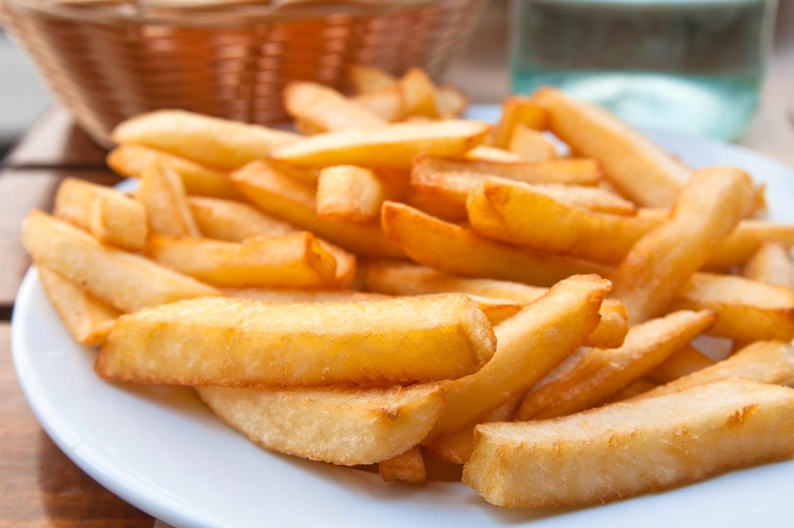 Домашний картофель фри без масла