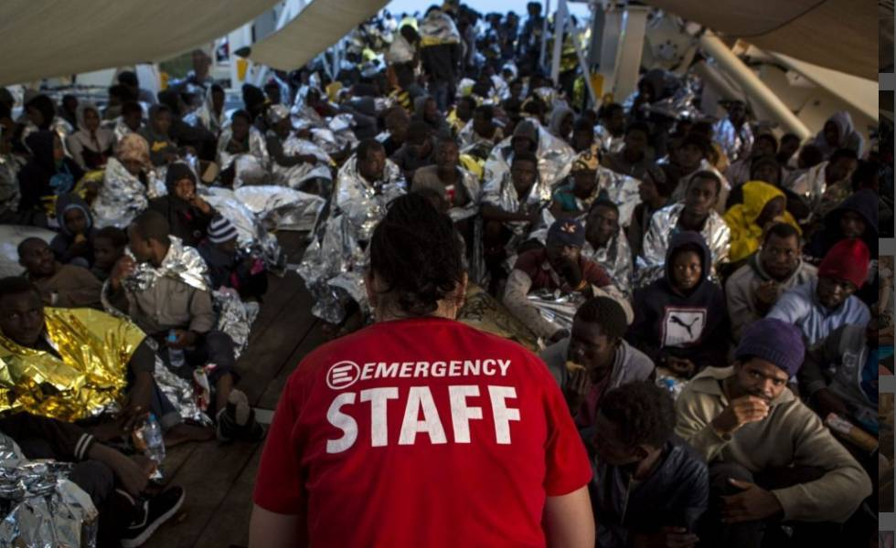 Photo of Emergency, combatientes contra la guerra