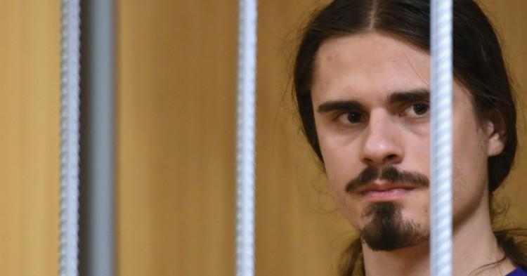 Участник акции протеста в Москве получил 3 года колонии