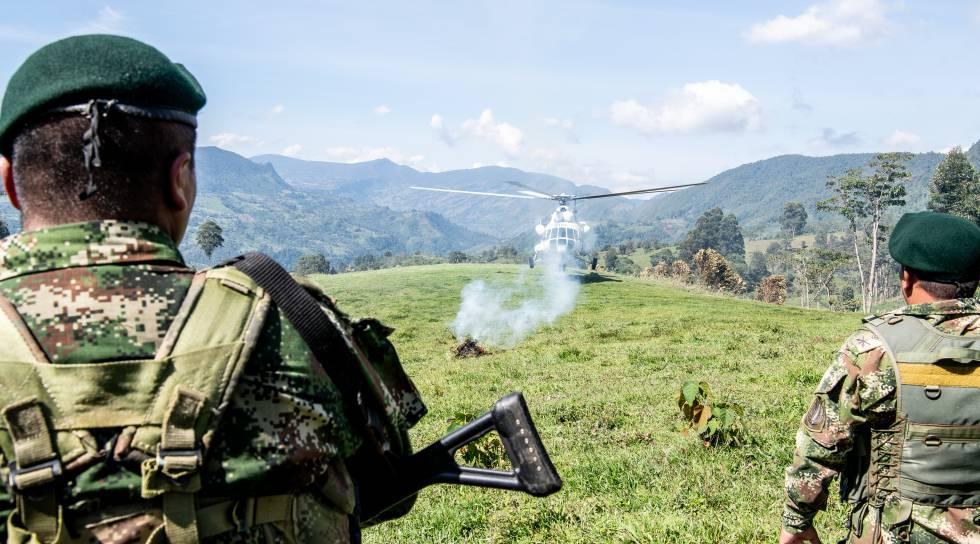 Photo of Un ataque del narco mata a cuatro militares en Colombia