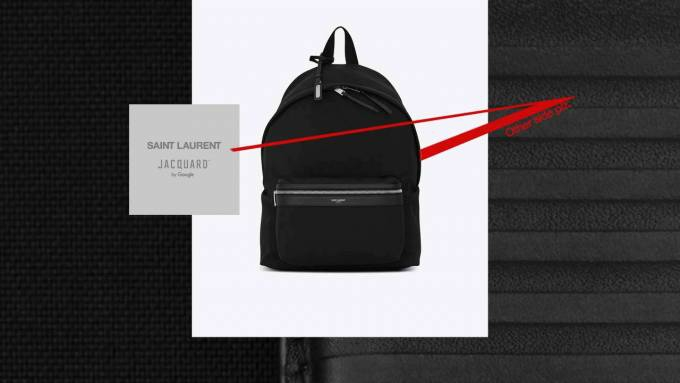 Photo of YSL CIT-E backpack is Google Jacquard's next piece of smart fashion