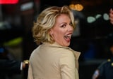 """I'm Cackling at Katherine Heigl's """"Embarrassing Cheer"""" For Her Kids' First Day of School"""