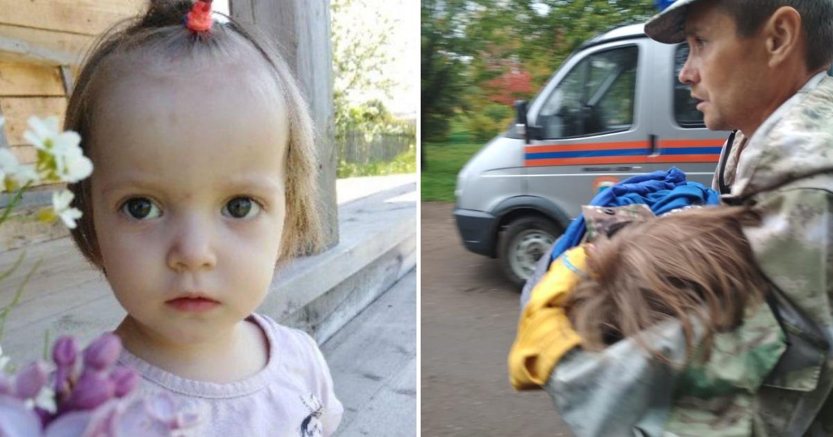 «Плачет, но жива!» В Вологде нашли пропавшую из песочницы девочку