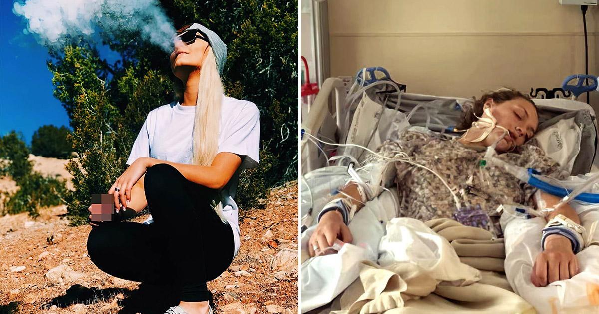 Фото Так ли безопасен вейп? Американка впала в кому на три дня