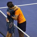 In Tennis, Hugging at the Net Is the New Handshake