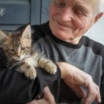 Pet Support Helps Older Adults Cope With Loss of Partner