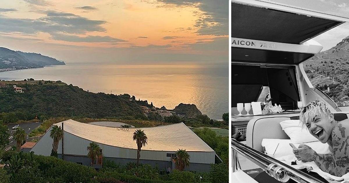 Фото Яхта, вилла, бикини: Ивлеева и Элджей проводят медовый месяц в Италии (ФОТО)