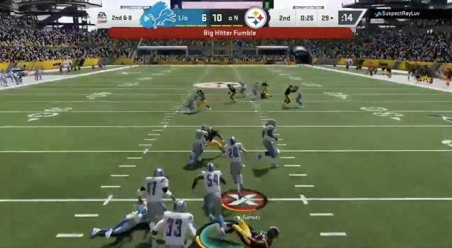 Photo of Looks Like They Still Haven't Gotten All The Bugs Out Of Madden