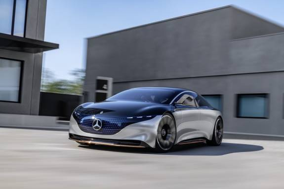 Photo of Mercedes-Benz VISION EQS is an unexpectedly practical concept of eco-luxury