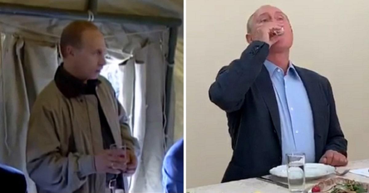 Фото Спустя 20 лет. Путин выпил с дагестанскими ополченцами