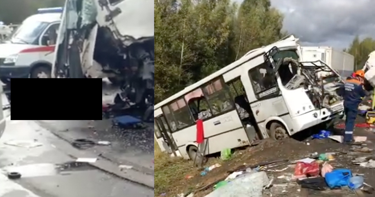 Груда металла и девять жeртв: подробности страшного ДТП под Ярославлем