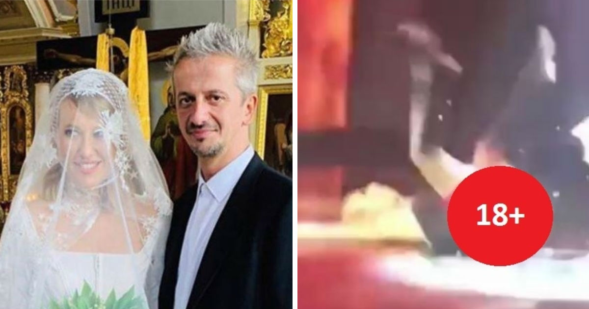 Фото В РПЦ прокомментировали поведение Собчак после венчания