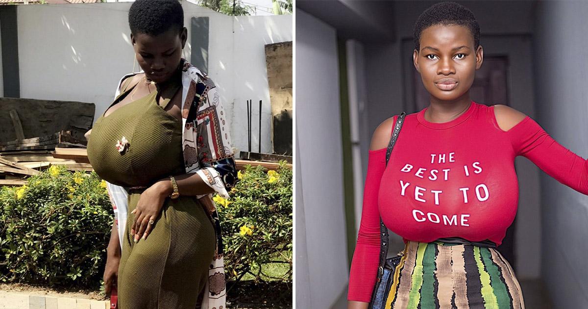 Африканка с самой большой натуральной грудью в мире покорила Инстаграм