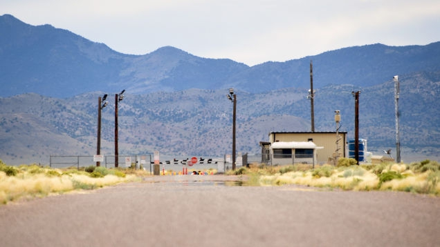Photo of Airspace Near Area 51 Will Be Closed to News Helicopters and Drones During 'Storm Area 51' Shitshow