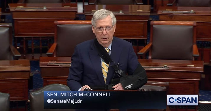 Photo of Mitch McConnell: Kavanaugh attacks follow a familiar pattern 'Shoot first, correct the facts later'