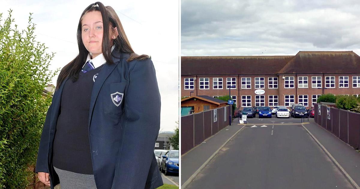 Слишком большую для школьной униформы британку отстранили от учебы