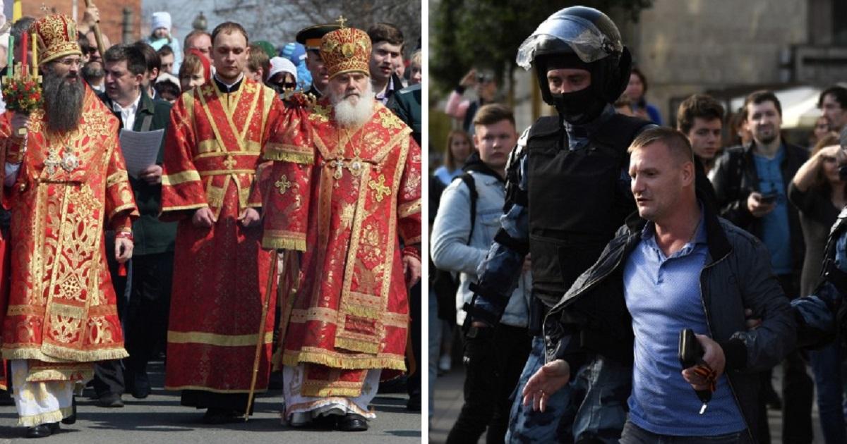 """39 священников выступили против """"московского дела"""". В РПЦ недовольны"""