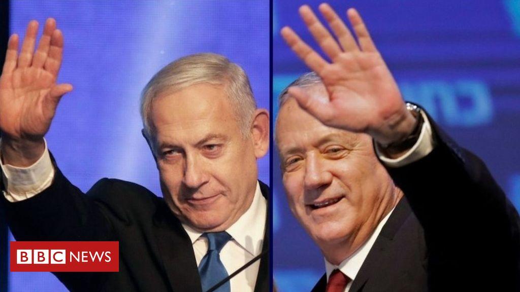 Photo of Israel election: Netanyahu and rival Gantz headed for deadlock