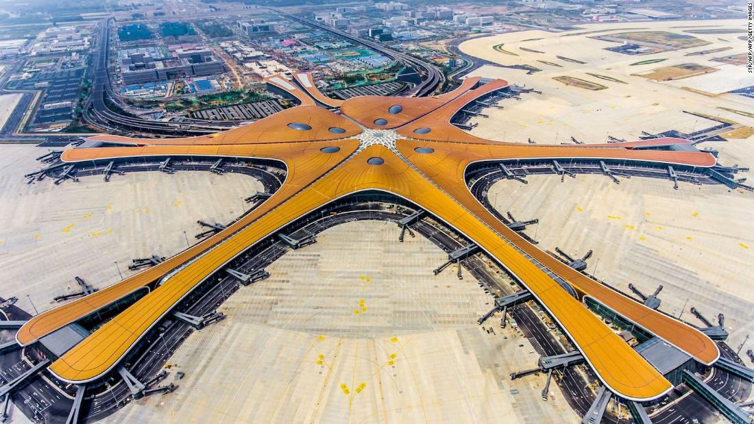 Photo of China's new mega-airport ready to open