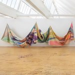 Photo of Sam Gilliam Unfurls an Exuberant Rainbow at Dia:Beacon