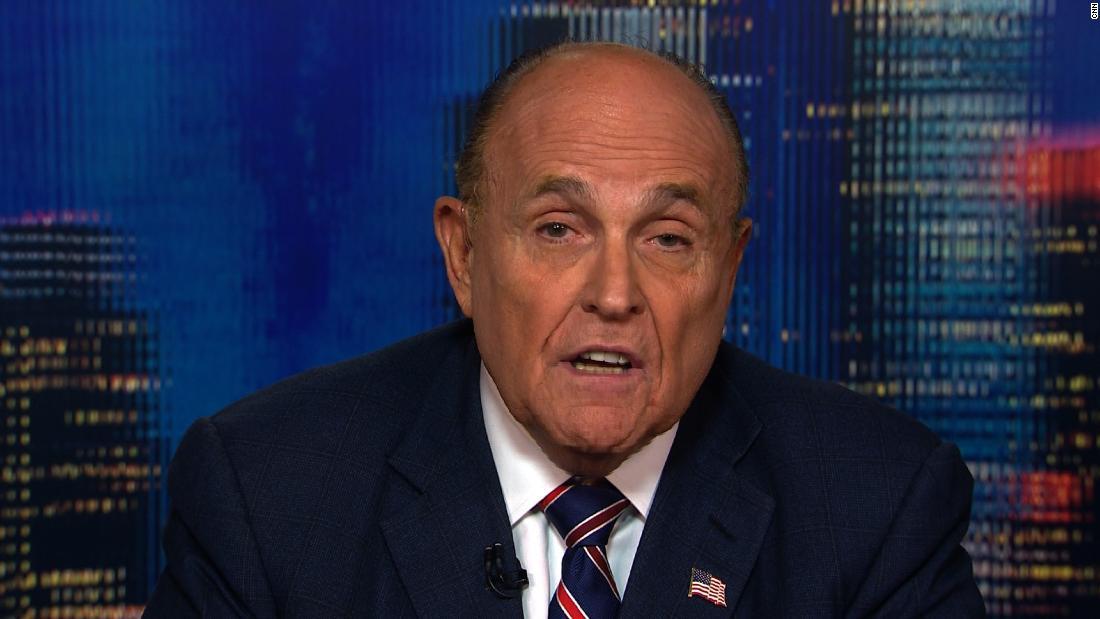 Photo of Rudy Giuliani denies asking Ukraine to investigate Biden -- before admitting it