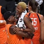 W.N.B.A. Playoffs: Sun Rout Sparks, and Mystics Beat Aces