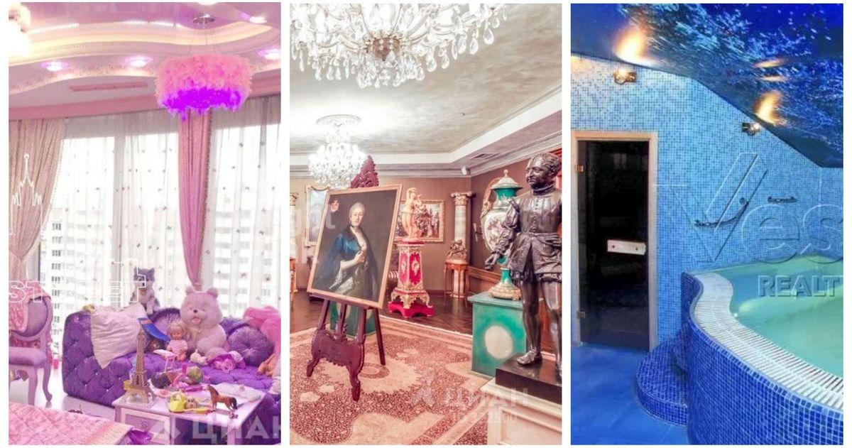 Колхоз-миллионер. Как выглядят квартиры для богачей в Москве