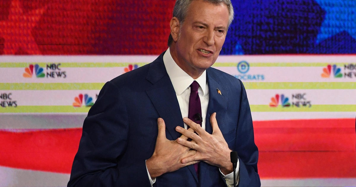 Photo of Bill de Blasio ends 2020 presidential bid