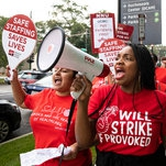 Photo of Nurses in Four States Strike to Push for Better Patient Care