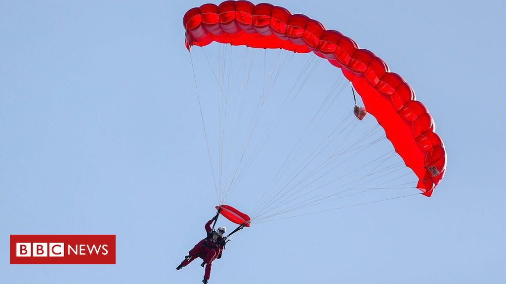 Photo of Operation Market Garden: WW2 veteran, 97, parachutes again over Arnhem